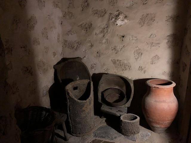 Una de las dependencias del monasterio del Palancar (Cáceres)