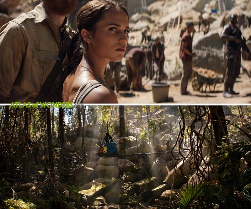 Tomb Raider locations South Africa