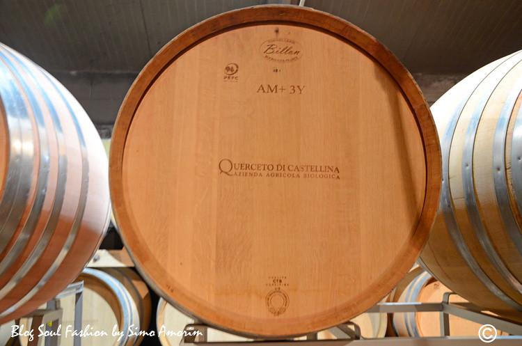 E como falei no texto: todos os vinhos da Querceto di Castellina são biológicos que quer dizer orgânicos em italiano