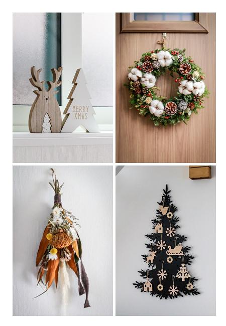 クリスマスオーナメント・飾り 自宅