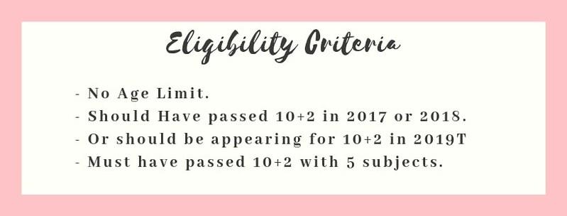 JEE Main 2019 Eligibility Criteria