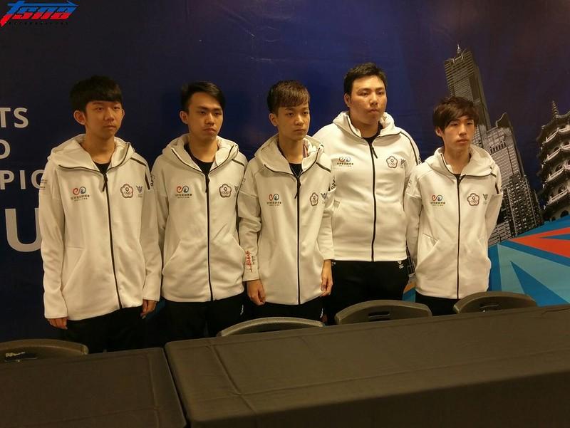 《CS:GO》台灣代表隊伍Sad Story。(張哲郢/攝)