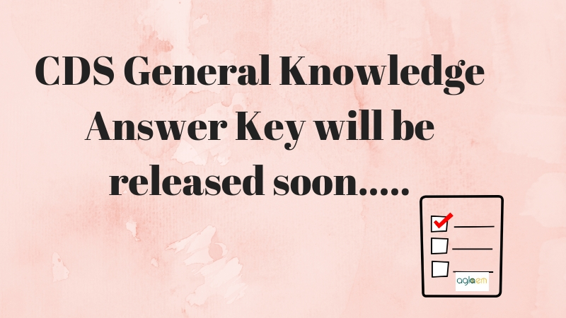 UPSC CDS Answer key