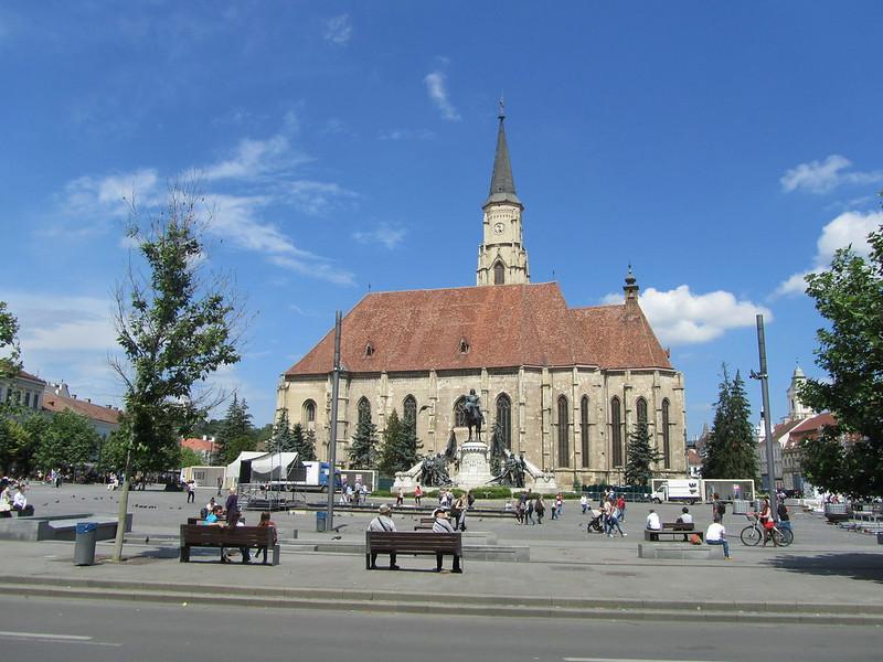 Plaza Unirii en Cluj-Napoca