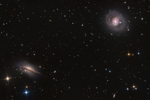 NGC 1055 / NGC 1068 / Supernova SN 2018ivc | by Terry Robison