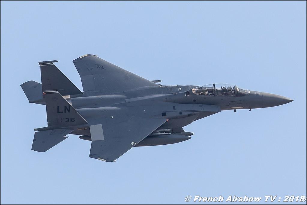 F-15 Strike Eagle USAF RIAT 2018 - Royal International Air Tattoo RAF Fairford Royaume-Uni Canon Sigma France contemporary lens Meeting Aerien 2018