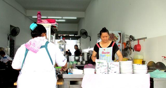 Coffee shop stall