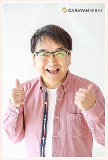 池戸陽平さま MC/パーソナリティ 宣材用プロフィール写真