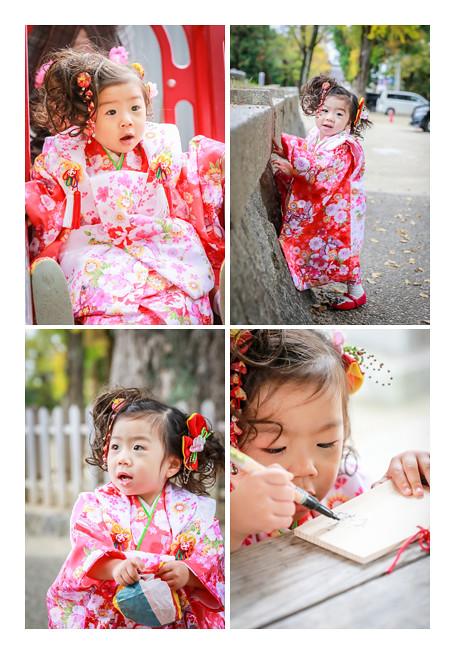 3歳女の子の七五三 挙母神社(愛知県豊田市)