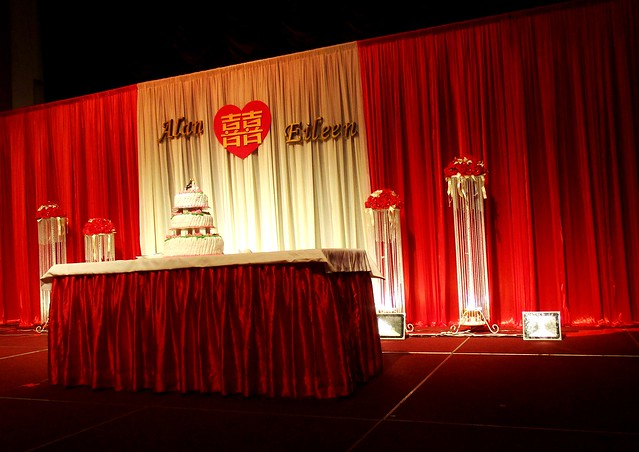 Stage backdrop