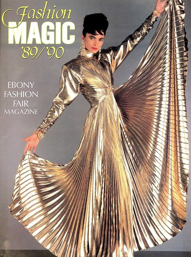 Front cover of Ebony Fashion Fair Magazine, 1989-1990 | by The Urbana Free Library Digital Collections