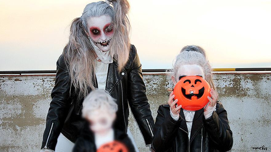 disfraces Halloween en familia