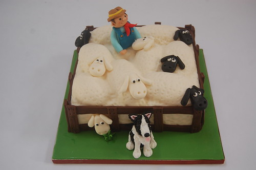 Superb Sheep Farmer Cake Beautiful Birthday Cakes Birthday Cards Printable Opercafe Filternl