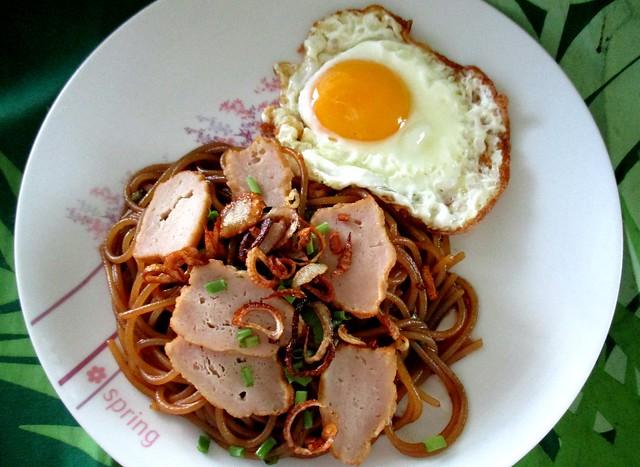 My Bovril gluten-free spaghetti 1