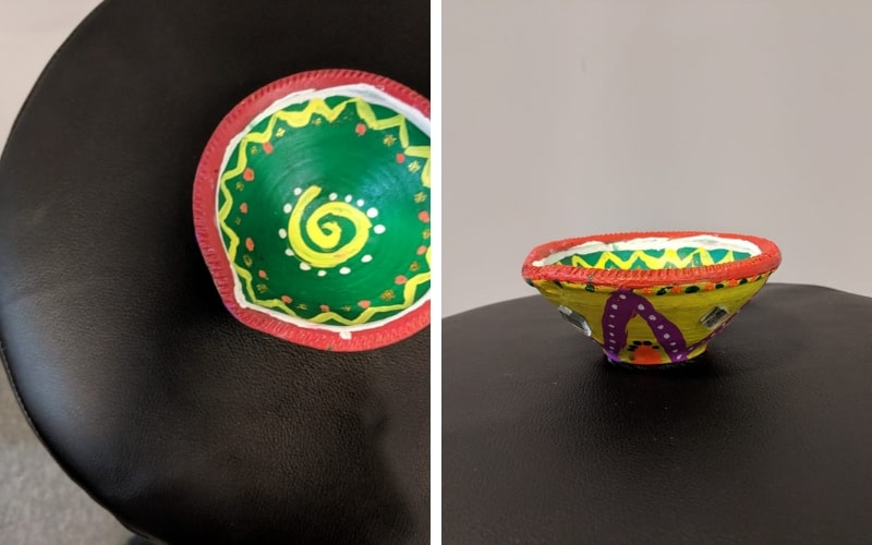 Diya decoration competition at AglaSem