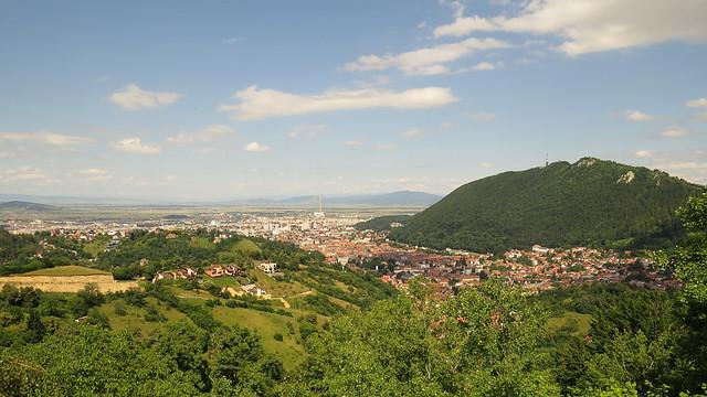 A view of Brașov