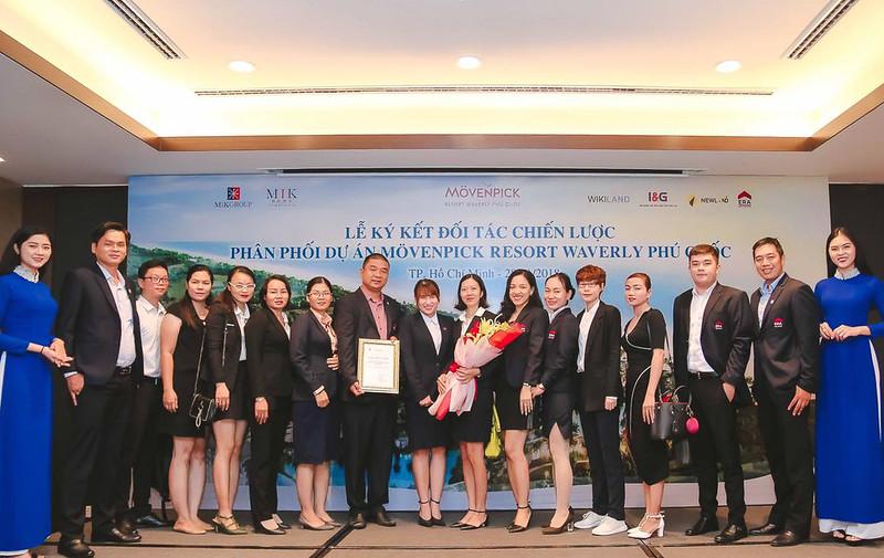 Lễ ký kết đối tác chiến lược phân phối dự án Movenpick Phú Quốc