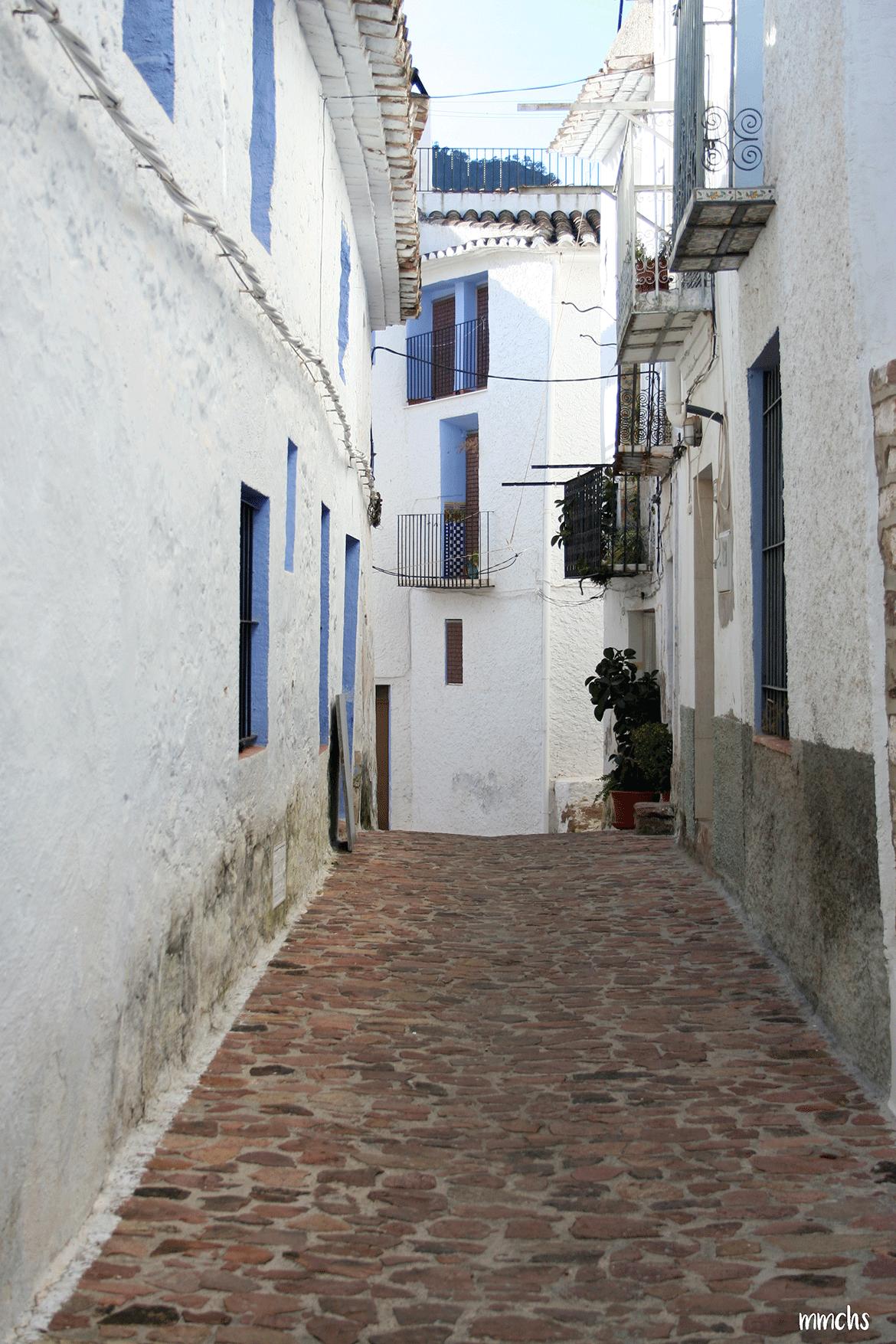 Aín un pueblo de montaña en Castellón