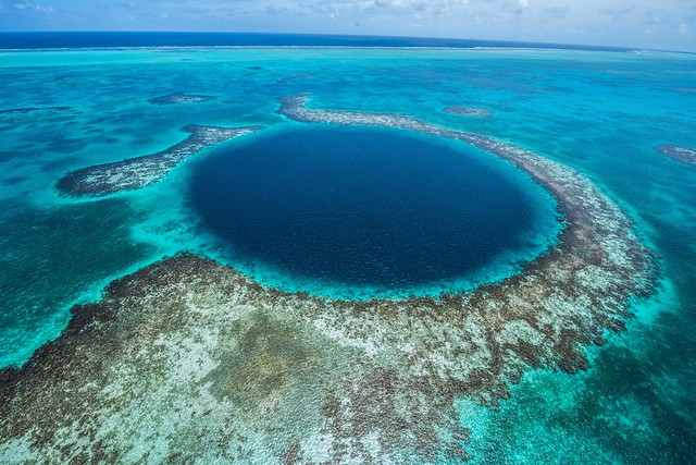 Blue Hole en Belice