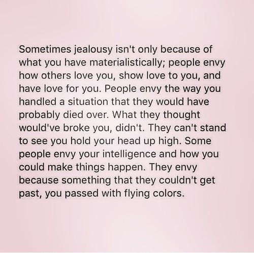 Jealousy Quotes Tumblr: Jealousy Quotes: Never Become Jealous Over Anyone. Be