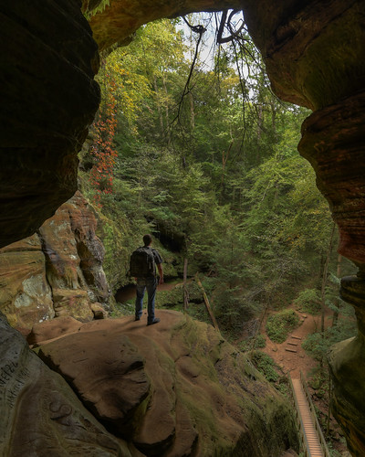 Rock House, Hocking Hills State Park HDR | by Brandon Kopp