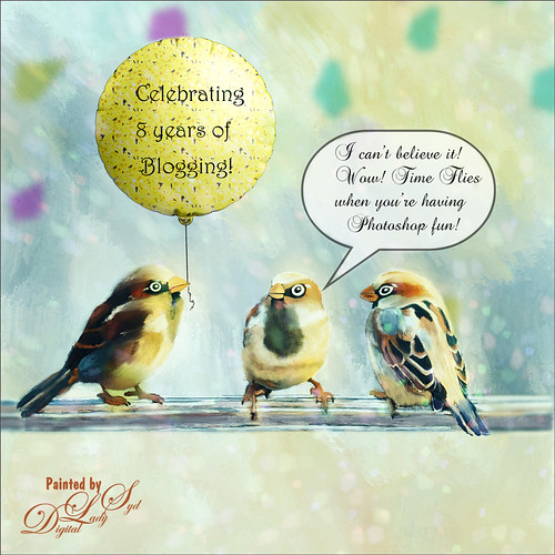 Celebrating 8 Years of Blogging bird image