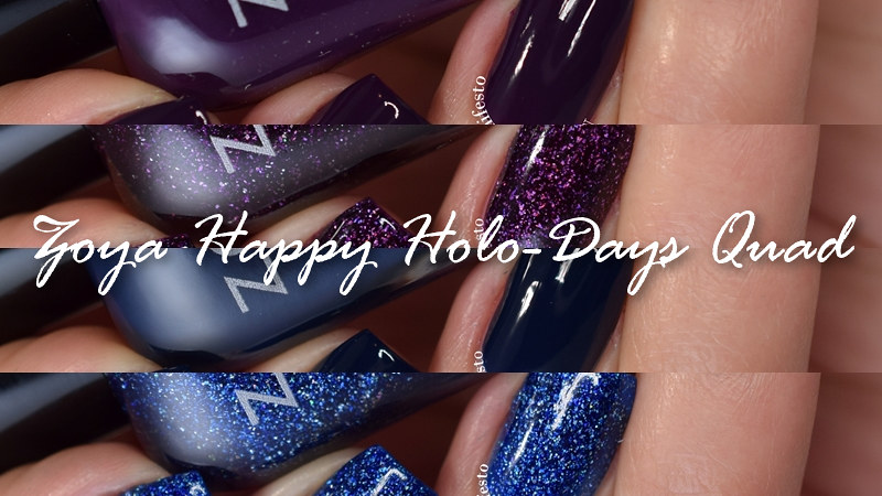 Zoya Happy Holoadays Quad