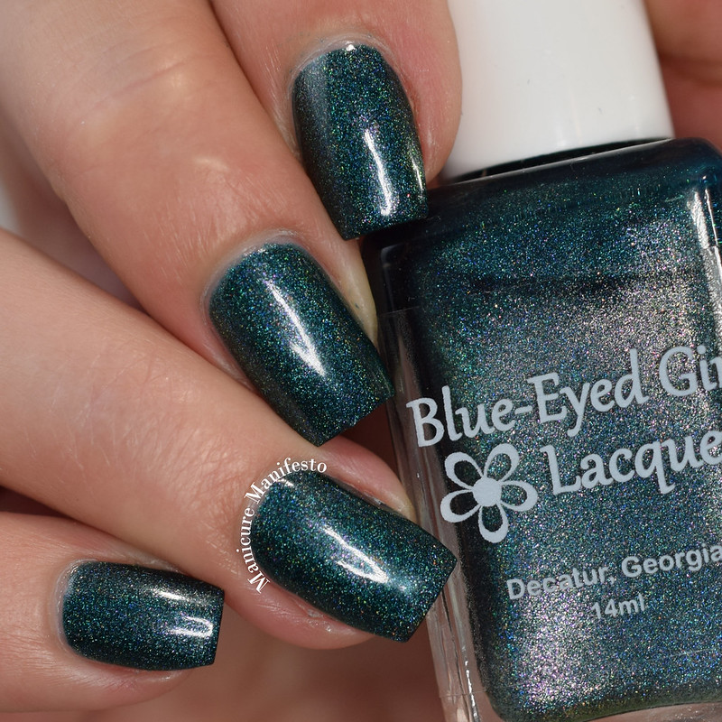 Blue Eyed Girl Lacquer The Night Tears Us Loose review