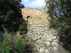 Urgonu supranu : la façade avant du moulin