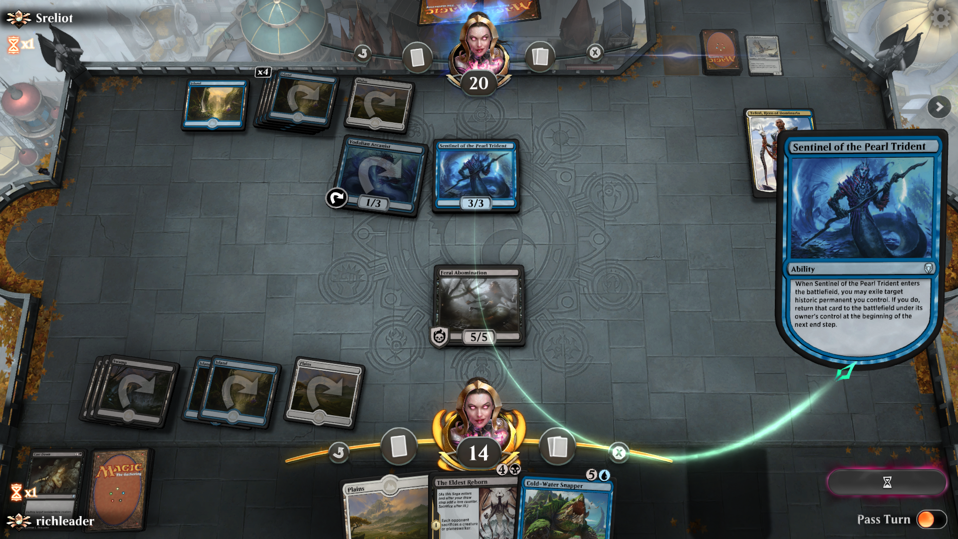 Mtg Assigning Damage To Multiple Blockers