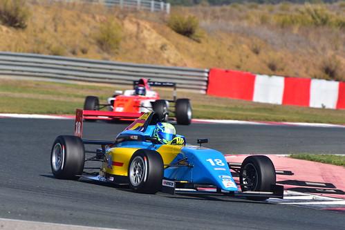 Guillem Pujeu, Campeonato de España de Fórmula 4, Los Arcos 2018