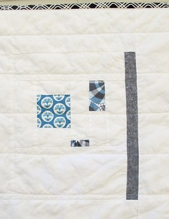Bars and Dashes Improv Baby Quilt | by Annamal Quilts