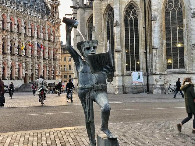 Fons Sapientiae en Lovaina (Flandes, Bélgica)