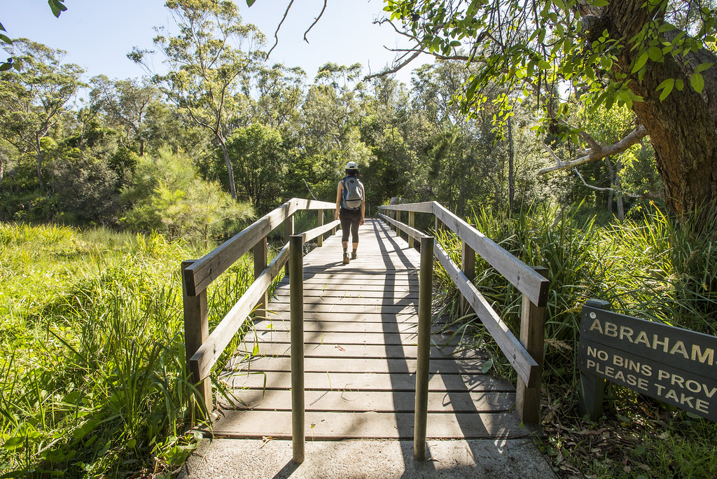 Abrahams Bosom reserve footbridge