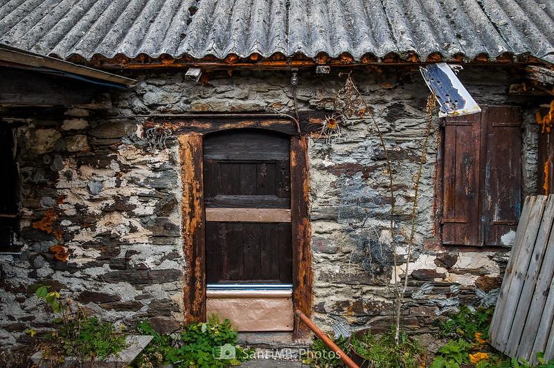 Puerta cerrada en Eth Pradet