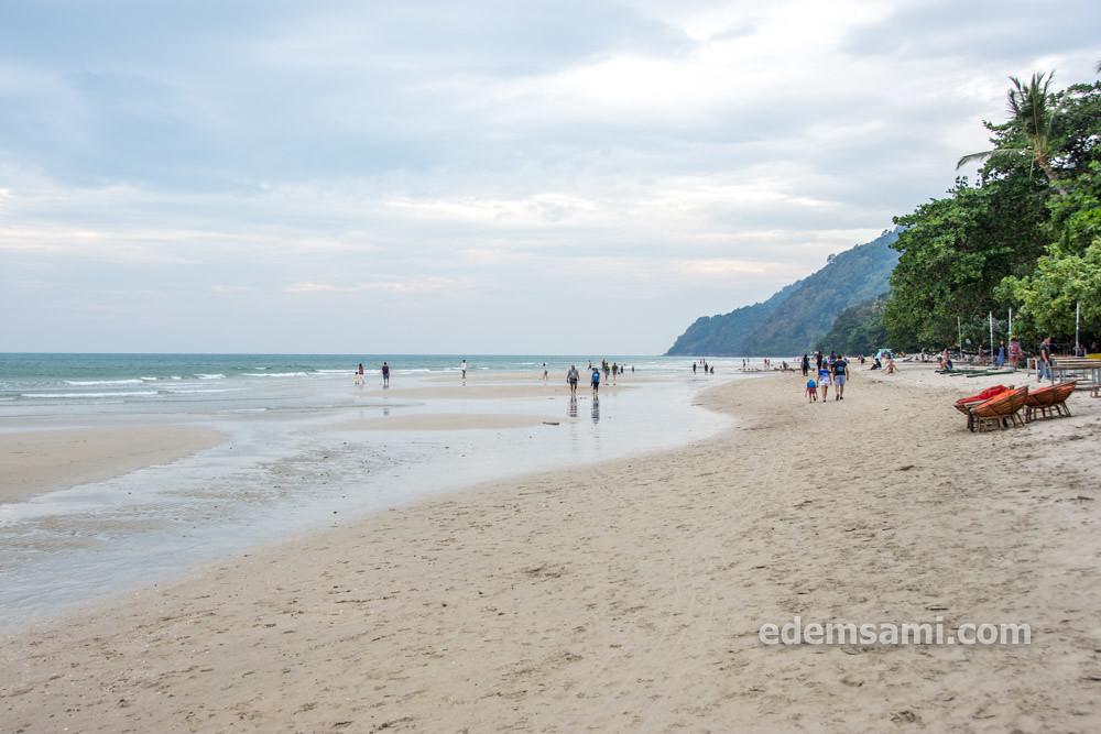 Ко Чанг пляж Вайт Сенд Бич