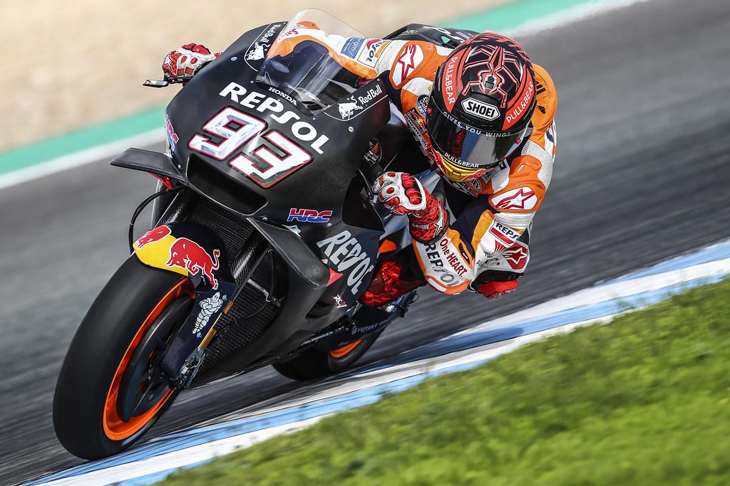 Marc Marquez Test Motogp Jerez Pretemporada 2019 Flickr