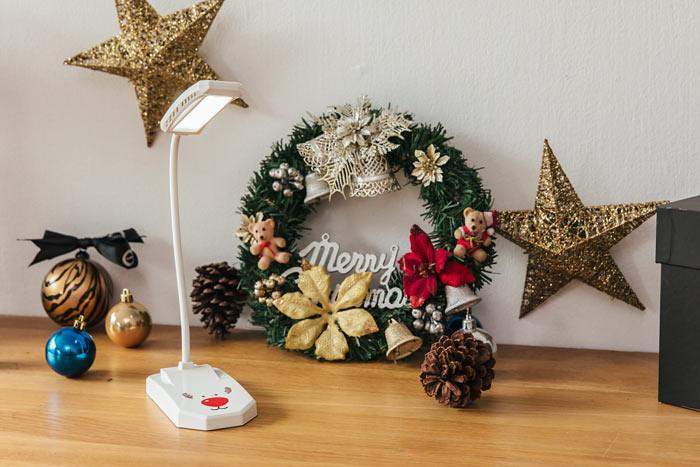 聖誕節風格檯燈