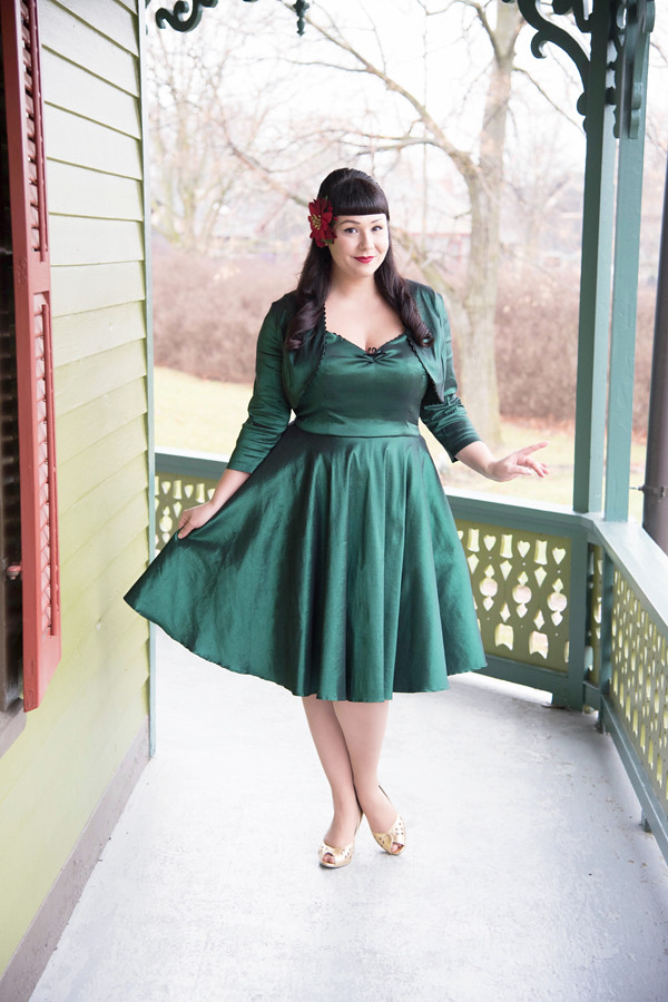 retro dress bettie page tatyana