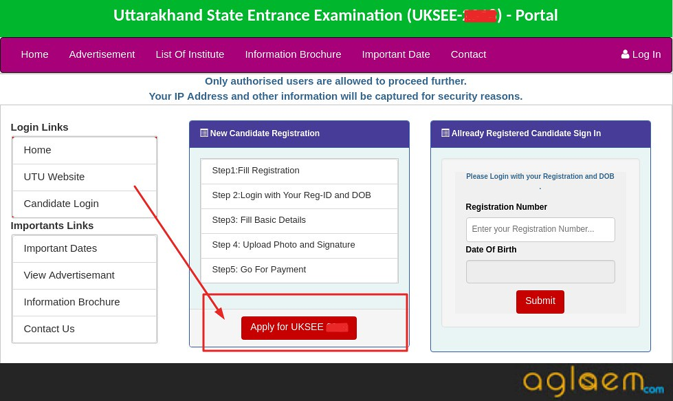 UKSEE 2020 Application Form