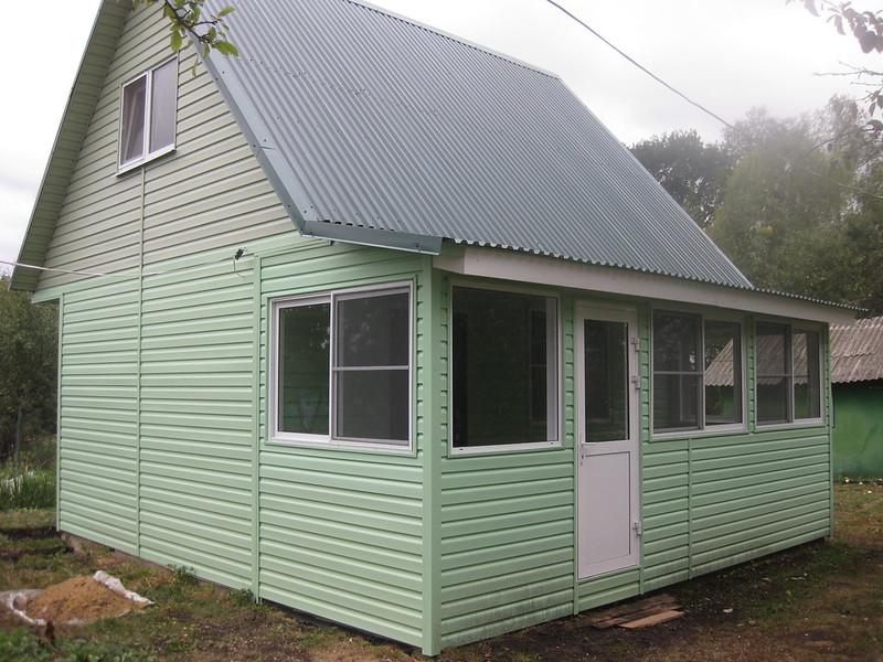 Новый домик в саду