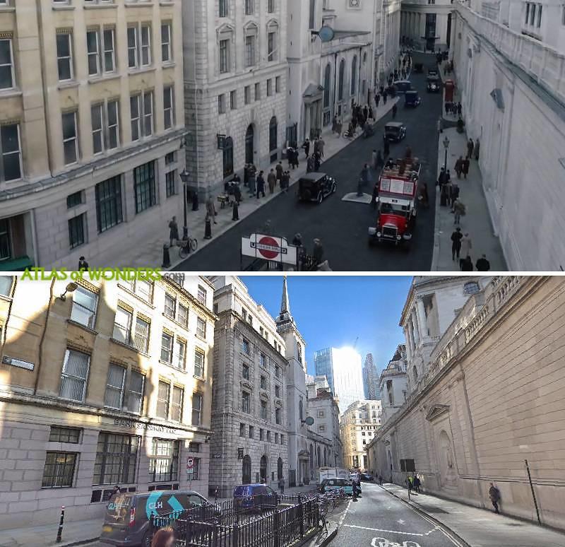 Fantastic Beasts 2 Filmed London