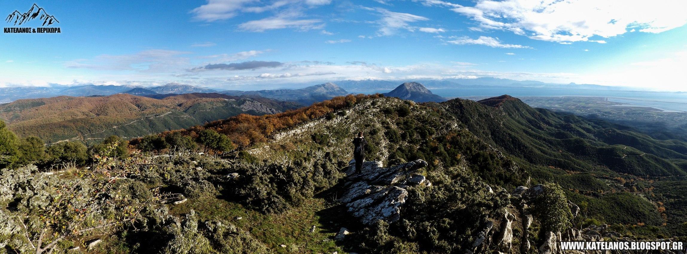 κορυφη αρακυνθος βουνο αιτωλοακαρνανία