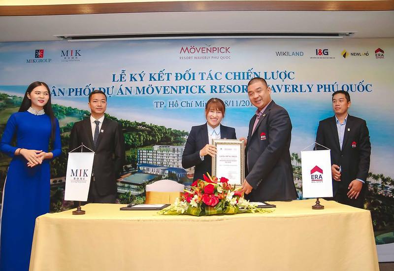 ký kết hợp tác phân phối Movenpick Phú Quốc
