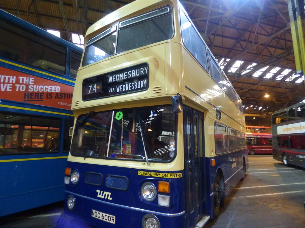 74 To Wednesbury Yardley Wood Bus Garage 80th Birthday Flickr