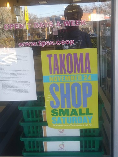 Takoma Park Maryland Shop Small Saturday | by rllayman