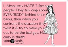 Jealousy Quotes I Absolutely Hate 2 Faced People They Ta Flickr