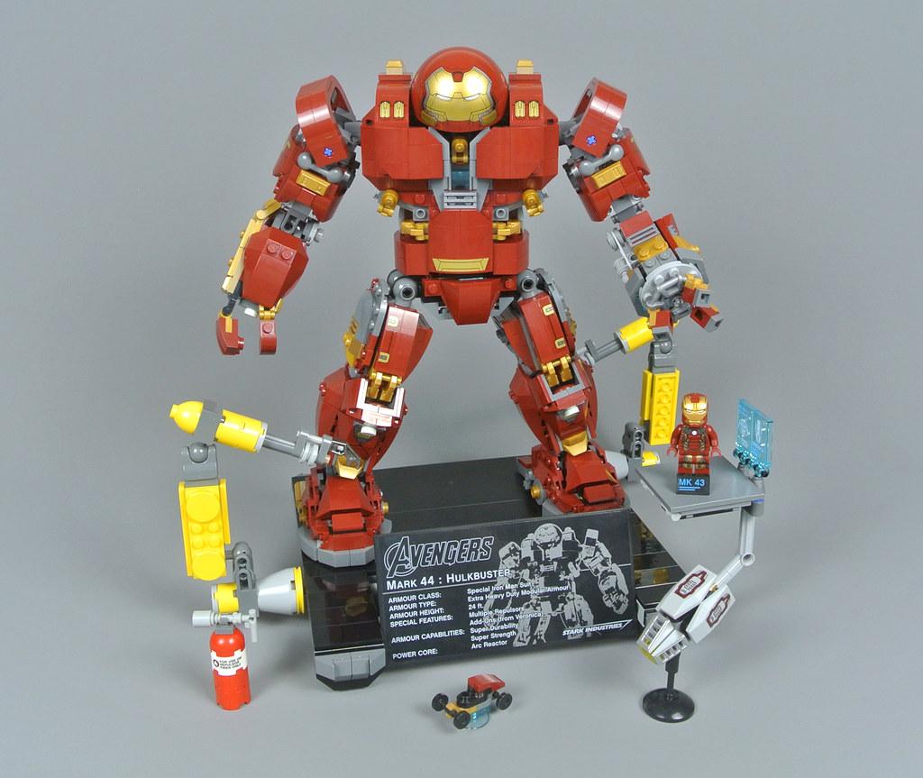 1 x Hulk 1 Ironman Hulk Buster Fit Lego Mini Figures 2019 MARVEL UNIVERS UK