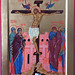 2018. Icône de la Crucifixion - The Crucifixion Icon.  Main de - Hand of Julia Jabre