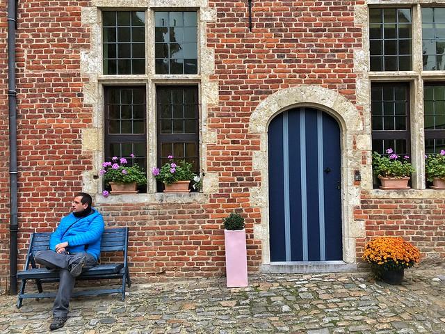 Sele en el beaterio de Lovaina (Flandes, Bélgica)